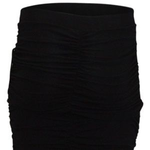 Guess Ruched Odette Skirt Black